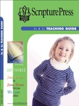 Scripture Press 2s & 3s Teaching Guide, Spring 2016 - Slightly Imperfect