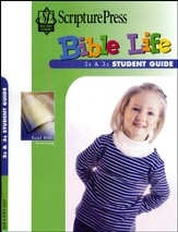 Scripture Press 2s & 3s Bible Life Student Book, Spring 2015