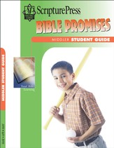 Scripture Press Middler Grades 3 & 4, Bible Promises Student Book, Spring 2015