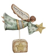 Blessed Are Those Who Hope in the Lord Angel Figurine