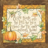 Thanksgiving, O Give Thanks Unto the Lord Napkins, Pack of 20
