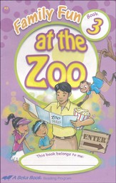 The A Beka Reading Program Supplementary K5 Readers: Family Fun at the Zoo