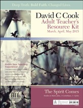 Bible-in-Life Adult Comprehensive Bible Study Teacher's Resource Kit, Spring 2015