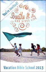 Breathe It In: God Gives Life VBS, Invitation Postcards (package of 20)