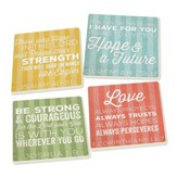 Inspirational Coasters, Pack of 4