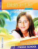 Bible-in-Life Middle School Creative Teaching Aids, Summer 2015