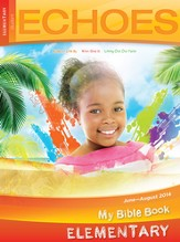 Echoes Elementary Bible Discoveries Student Book, Summer 2014