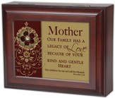 Mother, Legacy of Love, Proverbs 31:28, Jewelry Box