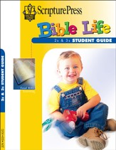 Scripture Press 2s & 3s Bible Life Student Book, Summer 2014