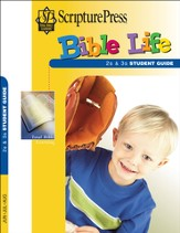 Scripture Press 2s & 3s Bible Life Student Book, Summer 2015