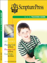 Scripture Press 4s & 5s Teaching Guide, Summer 2015