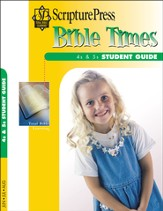 Scripture Press 4s & 5s Bible Times Student Guide, Summer 2014 - Slightly Imperfect
