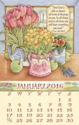 2016 Faithful Moments Mini Magnetic Calendar