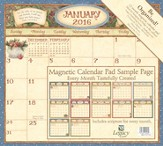 2016 Faithful Moments Magnetic Calendar Pad