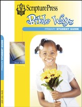 Scripture Press Primary Grades 1 & 2, Bible Ways Student Book, Summer 2015