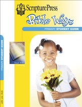 Scripture Press Primary Grades 1 & 2, Bible Ways Student Book, Summer 2016