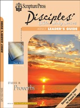 Scripture Press Adult Disciples Bible Study Series Leaders Guide, Summer 2014