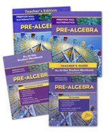 Prentice Hall High School Math Pre-Algebra Homeschool Bundle