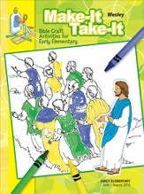 Wesley Early Elementary Make It/Take It (Craft Book), Summer 2015