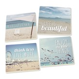 Enjoy the Little Things Coasters, Pack of 4