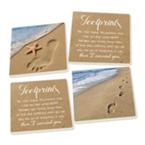 Footprints Coasters, Pack of 4
