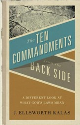 The Ten Commandments from the Back Side - eBook