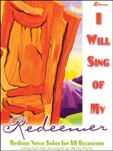 I Will Sing Of My Redeemer, Book