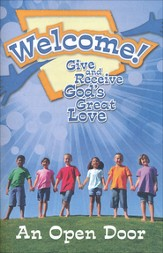 Welcome! Give and Receive Gods' Love - Student Booklet