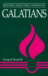 Galatians [Believers Church Bible Commentary]