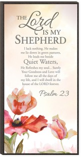 The Lord Is My Shepherd Wall Art