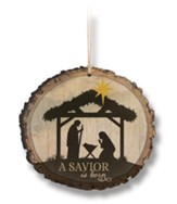 A Savior Is Born Ornament