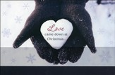 God is Love Christmas Cards, Box of 16