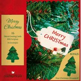 Merry Christmas Cards, Box of 16 - Slightly Imperfect