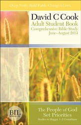 Bible-in-Life Adult Comprehensive Bible Study Student Book, Summer 2014