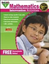 Mathematics Intervention Activities Grade 1