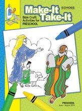 Echoes Preschool Make It Take It (Craft Book), Summer 2014