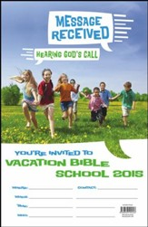 Message Received: VBS 2015 Invitation Poster