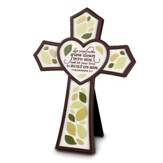 Resin Wall Cross - Tree - Let Your Roots Grow