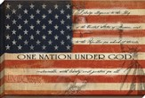 One Nation Under God Canvas Art