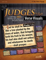 Judges & Ruth: Learning to Win in Spiritual Warfare Youth 2 to Adult Bible Study, Key Verse Visuals