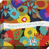 Happy Are Those Who Trust In the Lord Canvas Art