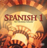 BJU Spanish 1, Set of 12 Audio CDs