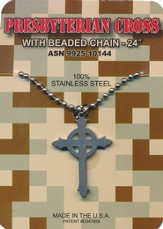 Presbyterian Cross G.I. Necklace