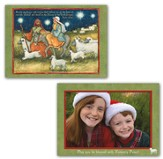 Holy Light Photo Christmas Cards, Box of 14