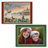 Christmas Blessings, Colors of Christmas, Photo Christmas Cards, Box of 14