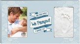 For This Child We Prayed Photo Frame, Blue