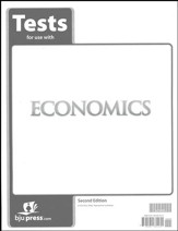 BJU Heritage Studies Grade 12 Economics Test Pack (Second Edition)