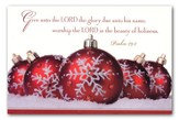 Give unto the Lord the Glory,  20 Boxed Christmas Cards
