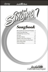 Joyful Singing for Teens #7 Songs