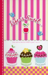 Life Is Sweet Journal with Sticky Notepad